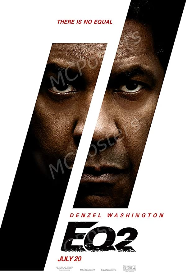 16 x 24 Posters USA The Equalizer 2 Movie Poster GLOSSY FINISH FIL621 41cm x 61cm