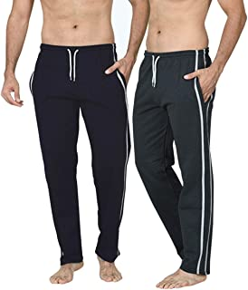 Men's Long Lounge Wear Pants Nightwear (Two Pack) Pyjama Bottoms Sleepwear