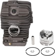 ECCPP 49mm Cylinder Head Piston Kit fit for Stihl MS390 MS290 MS310 029 039 Replaces 1127 020 1216 Piston Pin Rings Circlip Chainsaw Parts New