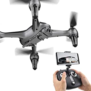 Weiwei Realistic Toys High-Definition Aerial Photography, Mobile Phone Operation, Camera WiFi FPV Quadcopter Drone with 8M...