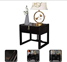 Bedside Tables Single Pumping Cabinet Bedroom Small Cabinet Storage Cabinet Solid Wood Bedside Cabinet Bedroom Furniture (...