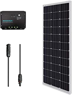 Best solar panel plug in outlet Reviews