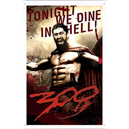 300 Spartan Art Silk Poster 24x36inch