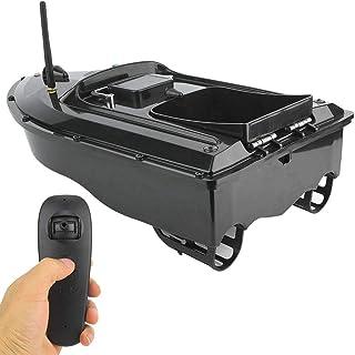 Barco de Cebo de Pesca, 110-240V 500M Impermeable Control Remoto inalámbrico Multifuncional Barco Lancha Rápida Buscador P...