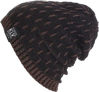 Womens Mens Winter Warm Crochet Wool Knit Ski Beanie Skull Slouchy Caps Hat