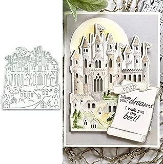Castle Shape Metal Die Cuts, Cutting Dies Cut Stencils for DIY Scrapbooking Photo Album Decorative Embossing Paper Dies for Card Making Template