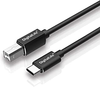 Sponsored Ad - DigitalLife USB C to USB Type B MIDI Cable - Type C to USB MIDI Interface Cord for MIDI Controller, MIDI Ke...
