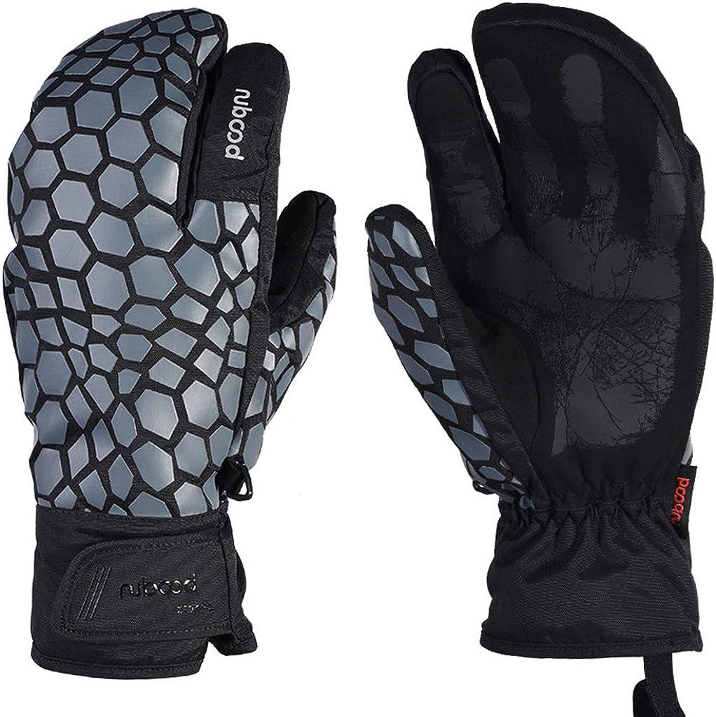 Ski Gloves Touchscreen Waterproof Warm Men Women Winter Mittens Outdoor Sport