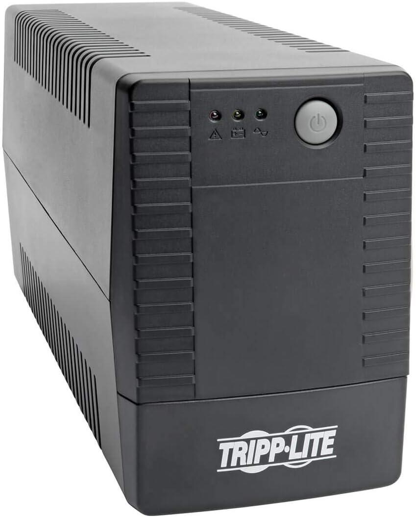 Tripp Lite UPS Desktop 900VA 480W AVR Battery Back Up Compact 120V 6 Outlet (VS900T)