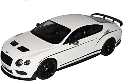 GT Spirit Bentley Continental GT3-R Coupe Weißs Nr 121 1 18 Modell Auto