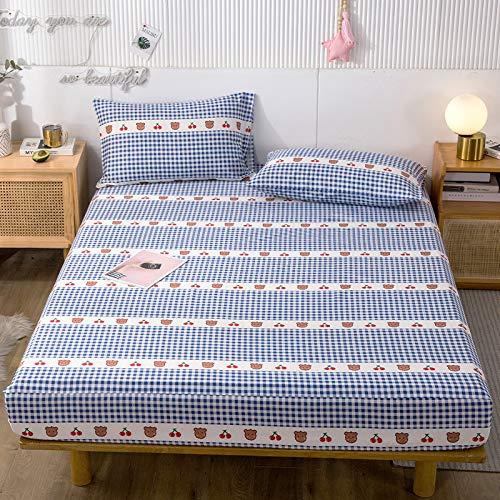 IKITOBI Sábanas de cama de 180 x 200 + 30 cm