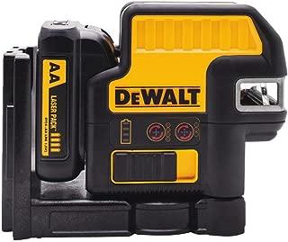 DEWALT DW0825LR 12V 5 Spot + Cross Line Laser, Red