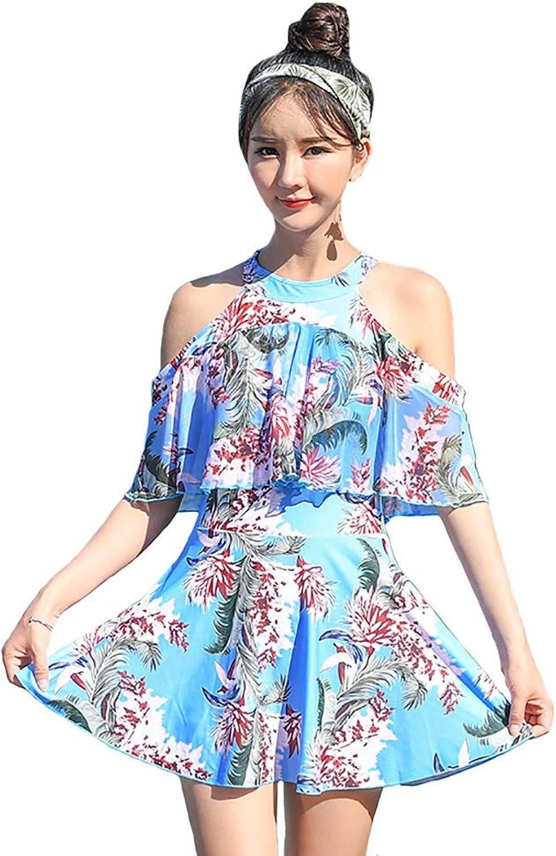 XRFC-ZM Fashion Spa-Badeanzug Damen, einteiliger Rock, Slim Fit, Frau Bikini Bademode B07QGM9L42  Eigenschaften