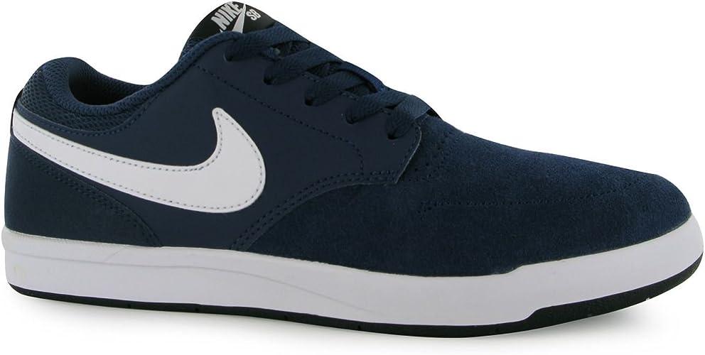 Nike SB Fokus Chaussures de Skate Homme Bleu Marine/Blanc ...