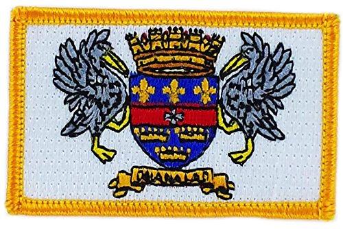 Aufnäher Patch bestickt, Flagge saint barthelemy barth backpack zum Aufbügeln