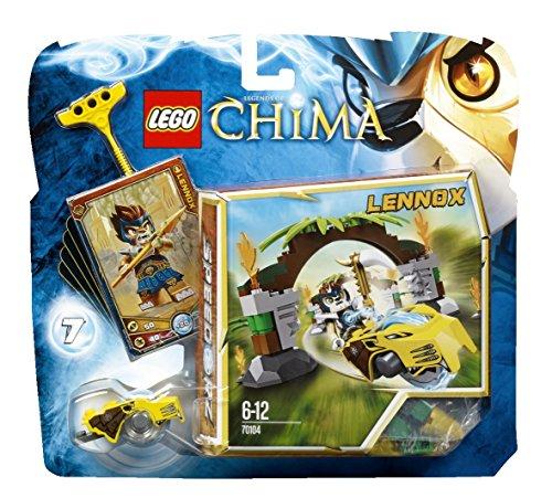 LEGO Legends of Chima 70104 - Speedorz 'Puertas Selváticas', juegos de construcción