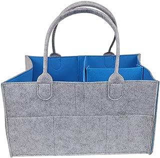 Jersh Baby Diaper Wipes Bag Caddy Nursery Storage Bin Infant Nappy Organizer Basket Adjustable