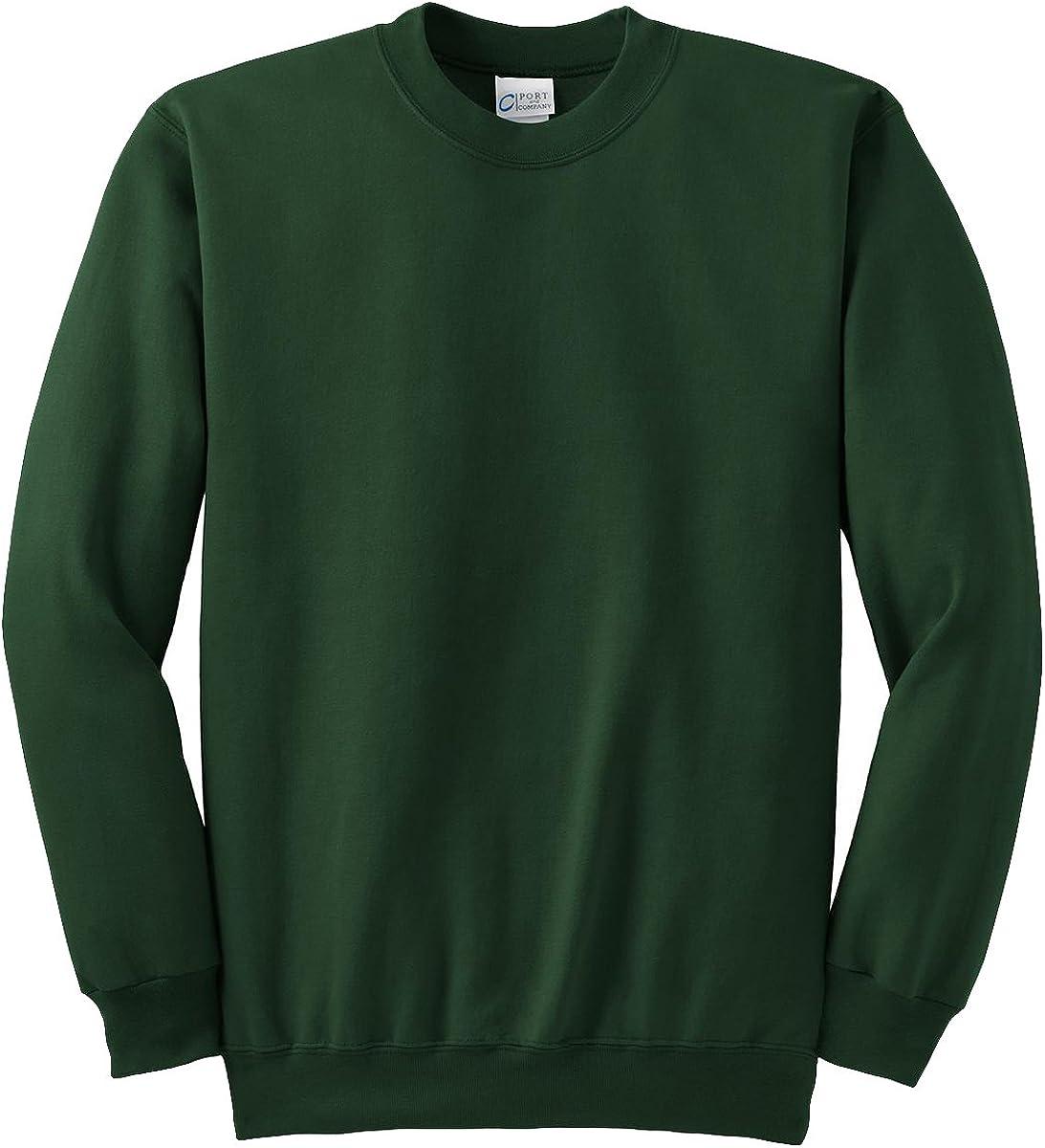 Port & Company Tall Ultimate Crewneck Sweatshirt>4XLT Cardinal PC90T
