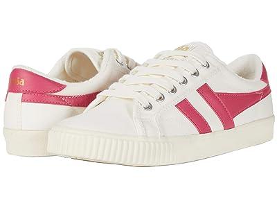 Gola Tennis Mark Cox (Off-White/Fluro Pink) Women