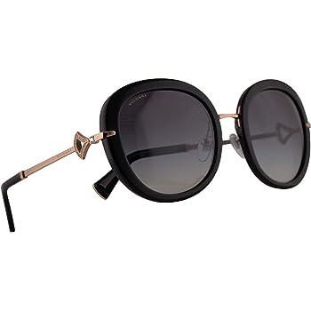 Bvlgari BV8196-B Sunglasses Black w/Grey Gradient Grey 53mm Lens 5018G BV8196B 8196B BV 8196-B Bulgari