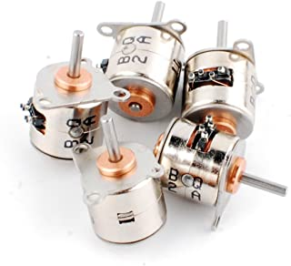 5pcs 6V dDia 10mm Micro 2 Phase 4 Wire Stepper Motor 18 Degress Mini Stepping Motor