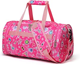 2017snow Dance Bags for Girls Small Gym Bag for Kids W/Shoe Compartment Overnight Duffle Bag Small