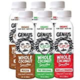 #1 RATED COCONUT BEVERAGE: Find out why BevNet named us 'Smoothie of the Year'! Our amazing plant based smoothies are real, pure, naked coconuts, blended together into a delicious, satisfying, dairy free smoothie! HEALTHY & NATURAL: Rich in potassium...