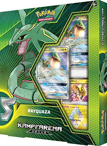 Lively Moments Pokemon Karten Kampfarena Deck Sonne & Mond Rayquaza DE Deutsch Sammelkarten / Spielkarten