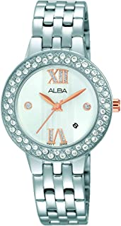 Alba Watch for Women , Analog , Stainless Steel Band , AH7H39X