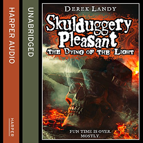 The Dying of the Light, Skulduggery Pleasant, Book 9 audiobook cover art