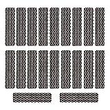 Striker Paper with Adhesive 0.50' x 2.00' Fireplace Decor 20 PCS Strike Strip