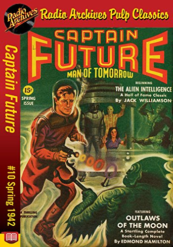 Captain Future #10 Outlaws of the Moon (English Edition)