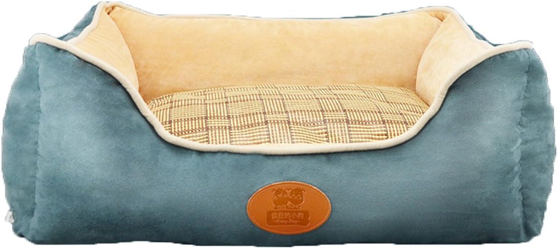Deluxe soft washable pet dog bed, Warm Basket bed cushion Pillow nest mat Pet caveC M 60x50x21cm(24x20x8inch)