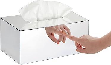 Tissue Box Holder/Toilet Tissue Box Cover/Bath Tissue Cover, Mirror-Rectangle