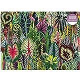Puzzle de 1000 piezas, hojas de colores para adultos y niños, imposible rompecabezas, juego de habilidad para toda la familia, colorido, rompecabezas de papel, 75 x 50 cm
