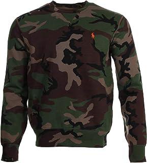 Ralph Lauren Men's crew neck sweatshirt - camouflage