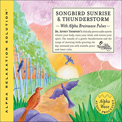 Songbird Sunrise and Thunderstorm audiobook cover art