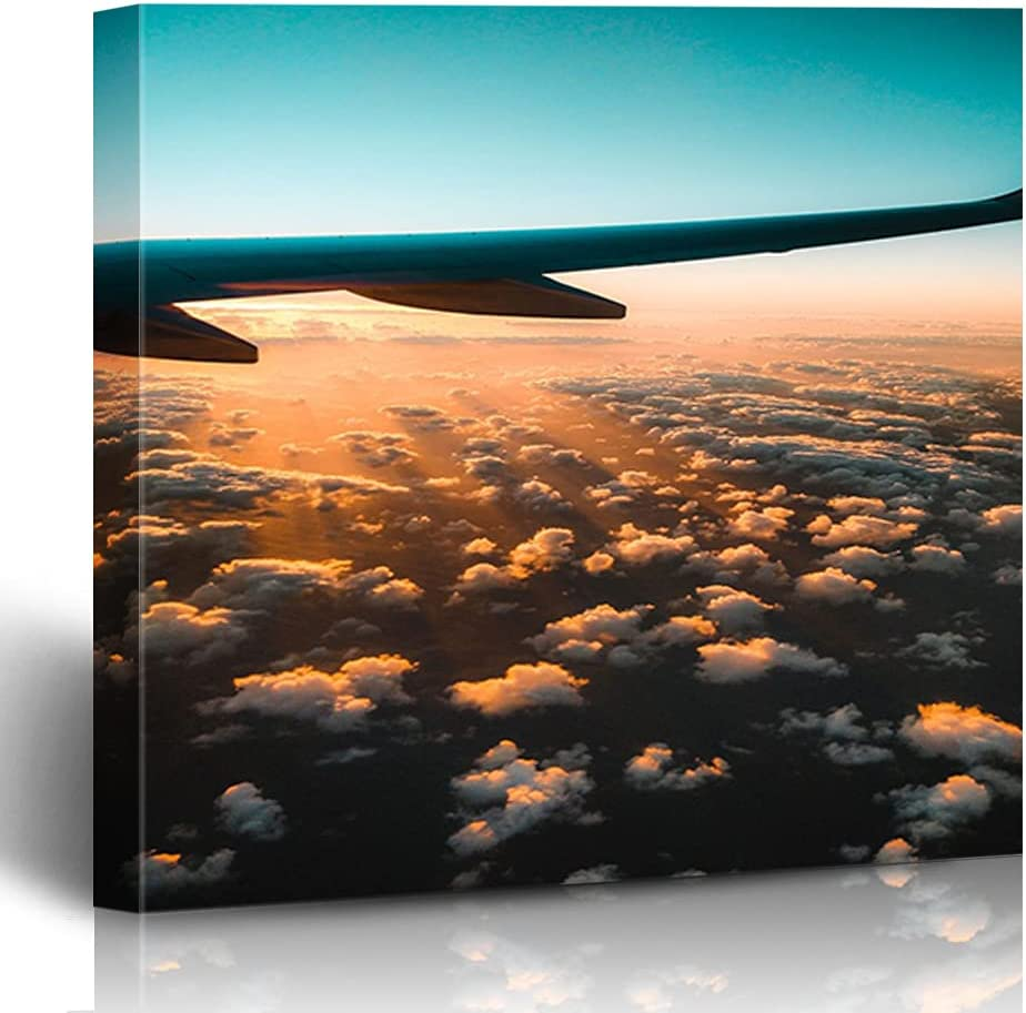 FAREYY Canvas Prints Landscapes Sunset Minneapolis Mall The Photograp Clouds Over Max 80% OFF