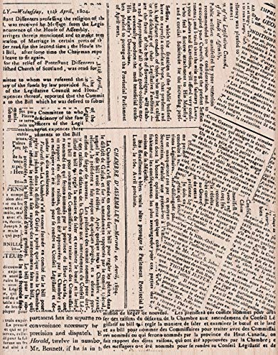 Hero Arts S5601 Mounted Rubber Stamp, Woodblock Stamp - Newspaper Background Background Mounted Rubber Stamp