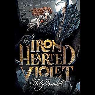 Iron Hearted Violet audiobook cover art