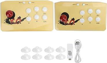 Fighting Gamepad Fighting Joystick Flexible Operation for Men Kids(yellow)