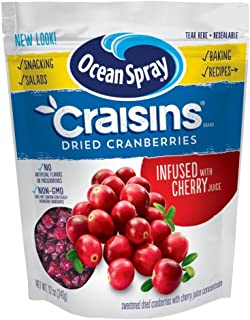 Ocean Spray Craisins Dried Cranberries, Cherry, 12 Ounce