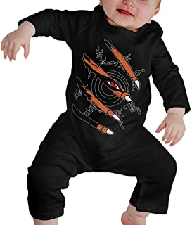 Naruto Nine Tails Baby Boys Girl Clothes 100% Cotton Long Sleeve Romper Bodysuit Jumpsuit Winter Outfits