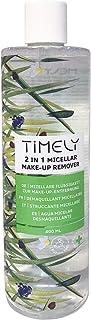 Timely - Desmaquillante micelar 2 en 1 con extractos de aloe árnica montana y manzanilla 400 ml
