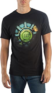 Fallout 111 Logo Men's Black T-Shirt