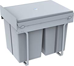 1home Cestino dei rifiuti Armadio Cucina pattumiera (40 Litri)