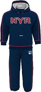 Reebok NHL Small Kids 4-7 Big Kids 8-20 and Infant Pullover Hoodie Sweatshirt & Pants Set
