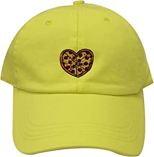 cdbfe95b1f5 City Hunter C104 Heart Pizza Cotton Baseball Dad Cap 26 Colors