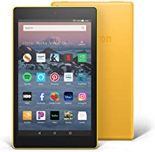 "Fire HD 8 Tablet (8"" HD Display, 16 GB) - Yellow (Previous Generation - 8th)"