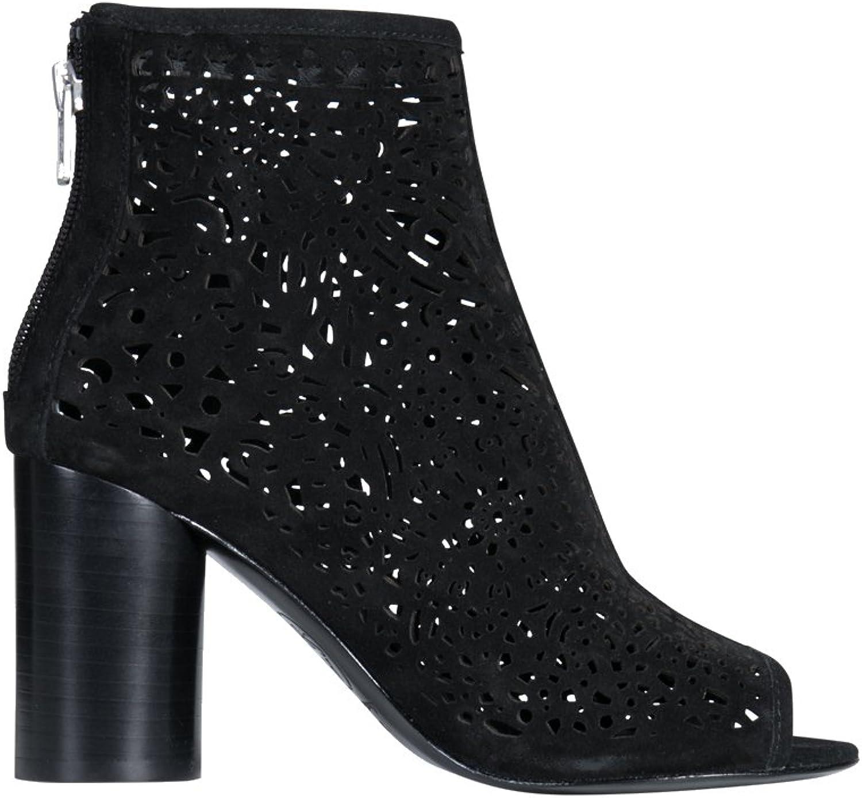 ASH Damen Lederstiefelette Lederstiefelette Flirt in Schwarz  Top-Marken verkaufen günstig